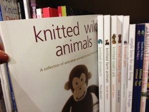 Knitted Wild Animals at the Knitting Parlour