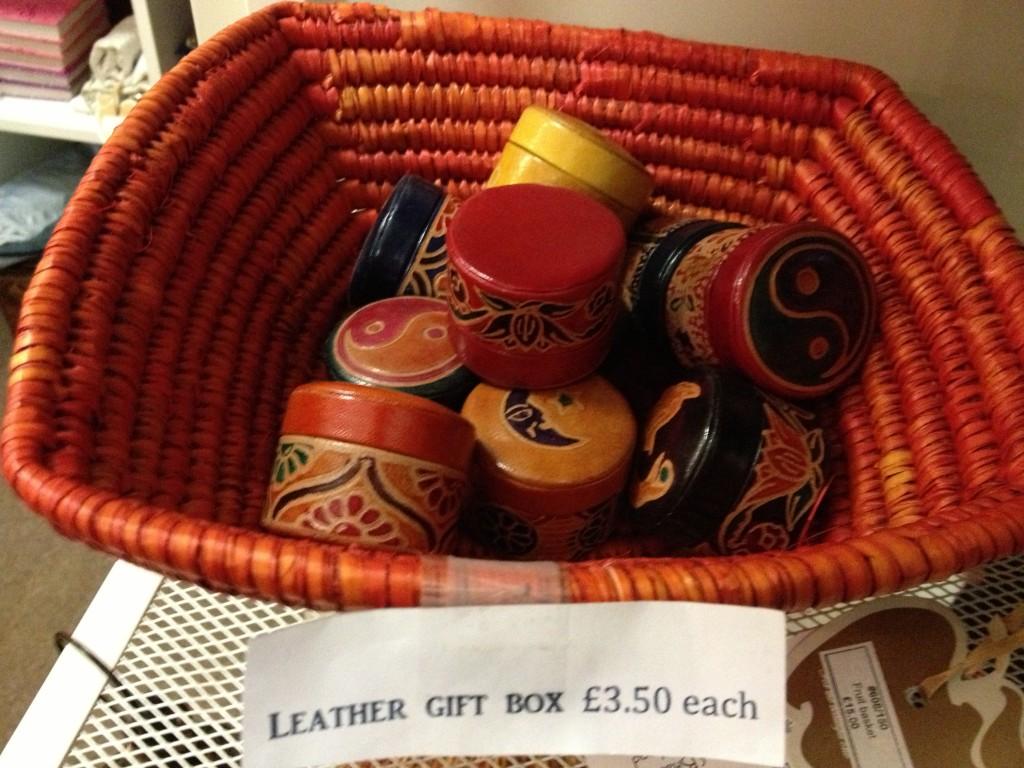 Kalliste's leather gift box