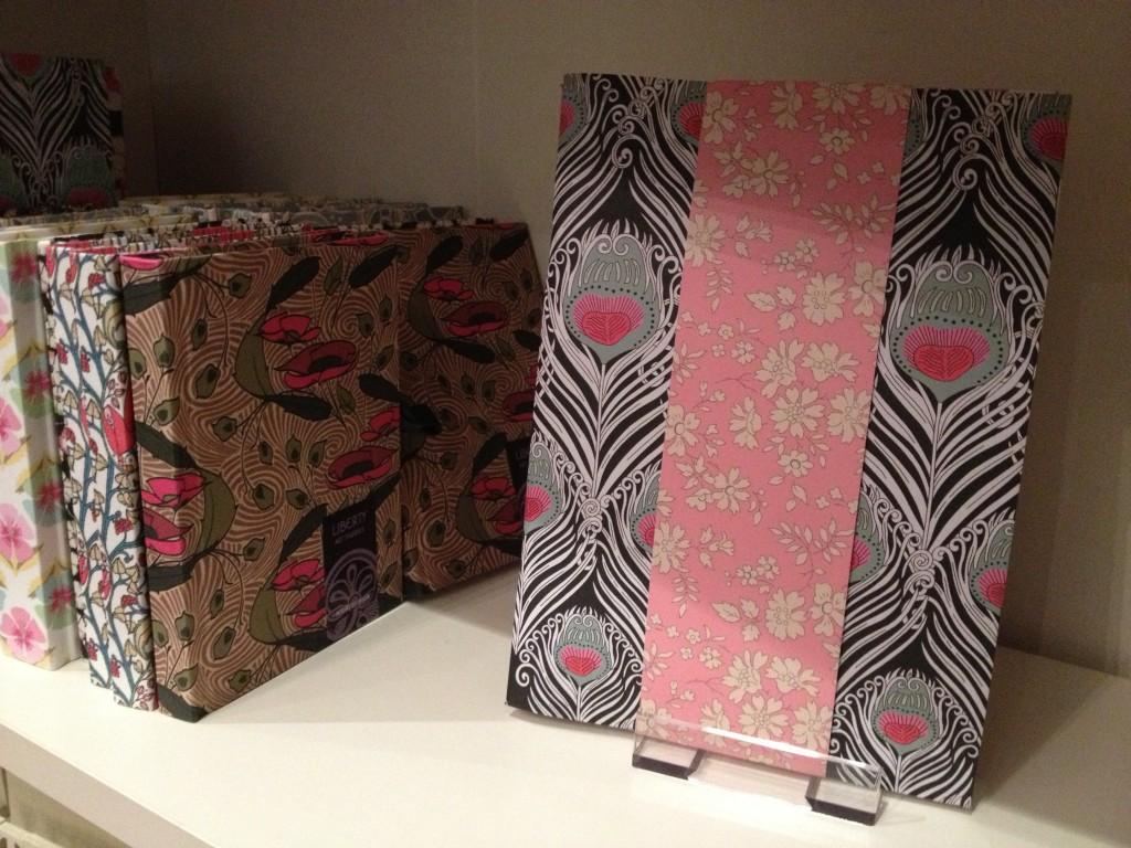 Austin & Co's Liberty print notebooks